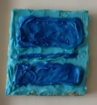 Untitled (Blue Divided by Blue)